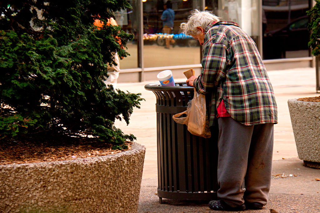 Old-woman-scavenging-on-3-8-12--Center-City-2