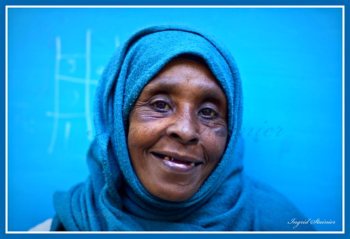 311. Happiness in Blue, Tangier, Morocco