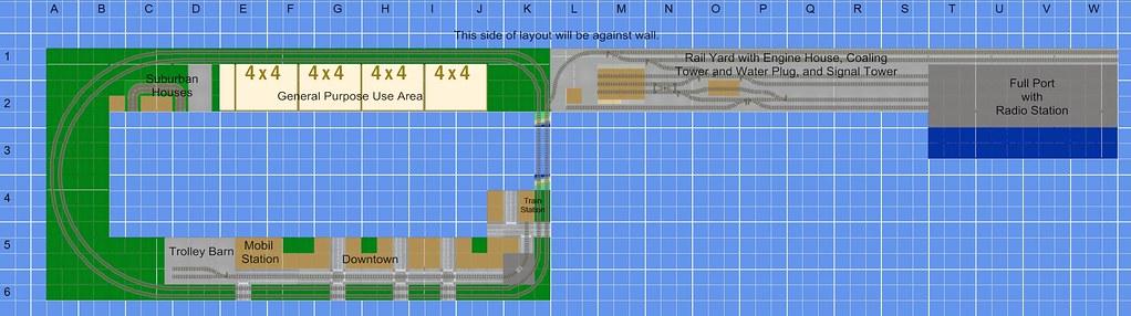 Brickworld 2012 Train Layout 6822241500_53aede0ba0_b