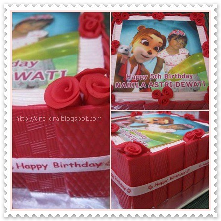 "Paddle Pop ""Liona"" for Nabila by DiFa Cakes"