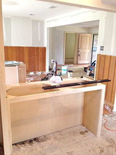 Kitchen Cabinets at the Flip