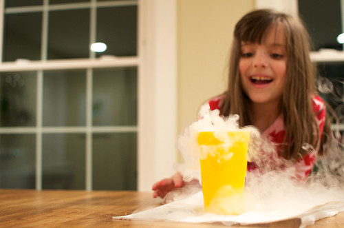 Dry Ice Happy Fun Time!