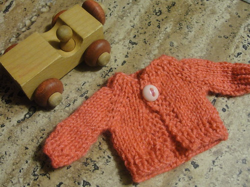 Tiny Pink Sweater 1