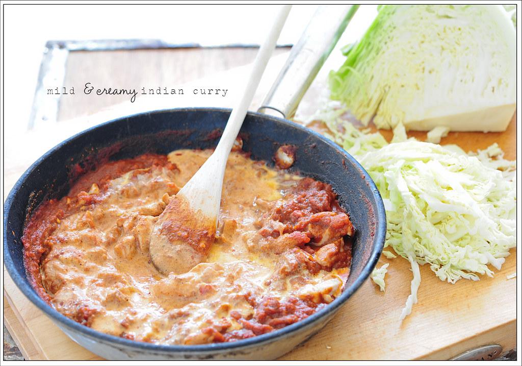 8. mild & creamy indian curry