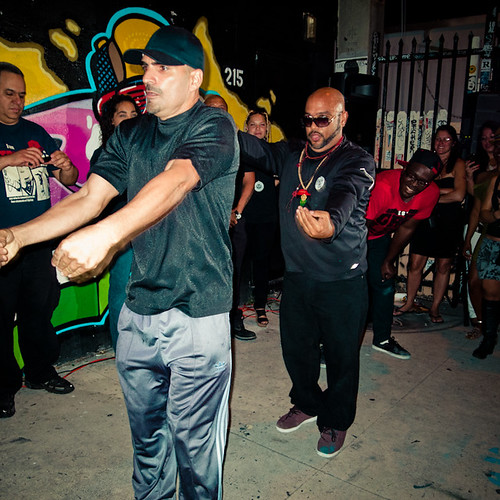 Chillski and Zulu Nation Getting Down, Plan Beats Art Walk, Miami