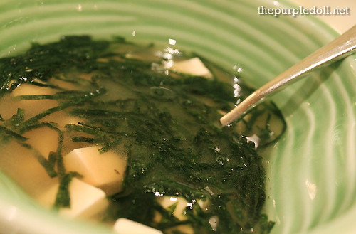 Plate - Miso Soup