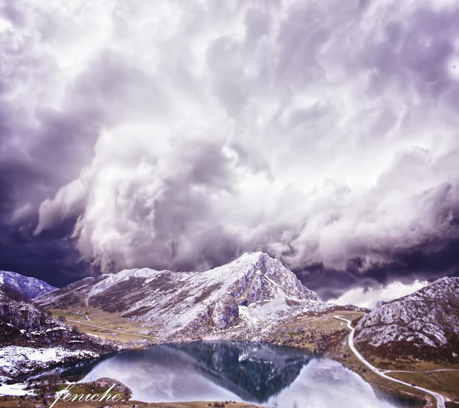 asturias lagos