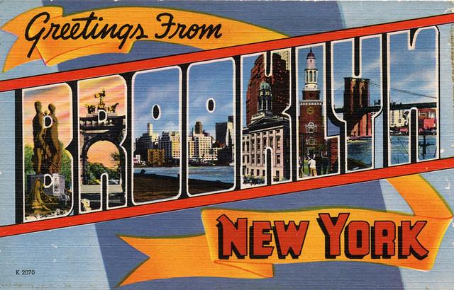 greetings from brooklyn  new york