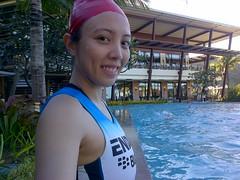 Next Step Tri Camp: swim time!