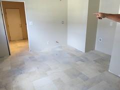 the new kitchen floor!