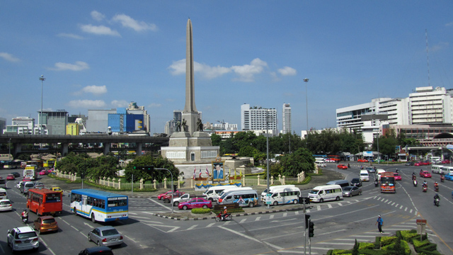 Victory Monument - One Day in Bangkok