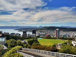 Good god it's lovely in Wellington today