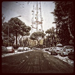 Neve a Belsito Monte Mario, Roma 11-02-2012