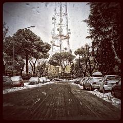 Neve a Belsito Monte Mario, Roma 11-02-2012