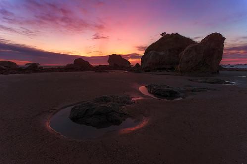 sunset dark pacific tidepools seastack sigma1020mmf456exdchsm nikond7000