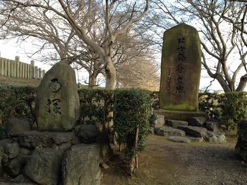 能の観世座・結崎ネブカの発祥の地『面塚』@川西町
