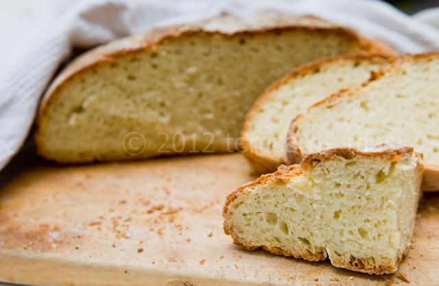 Pane fatto in casa di semola di grano duro
