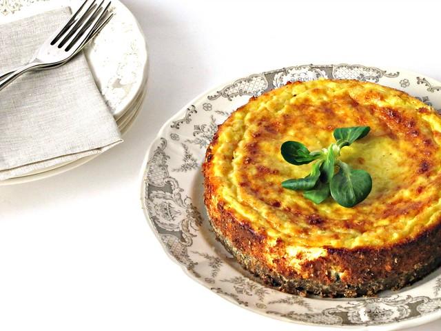 Savoury Cheese Cake al Tartufo