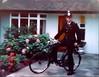 Metropolitan Police 'Z' District Home Beat Officer, Cheam, (nr Sutton) Surrey, UK. Circa 1976.