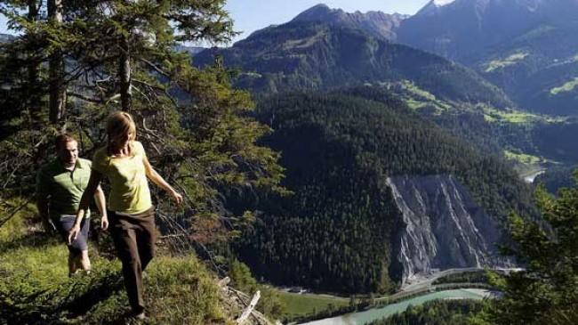 Švýcarská cesta Grand Canyonem
