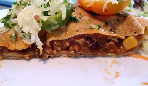 Chili con Carne Crêpe - CloseUp