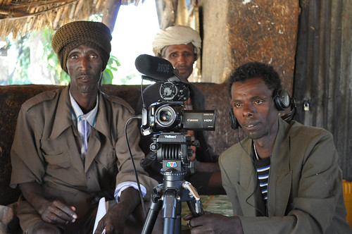 Farmers from Fogera learn to use participatory video