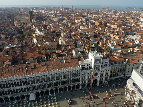 venice view fro clock tower