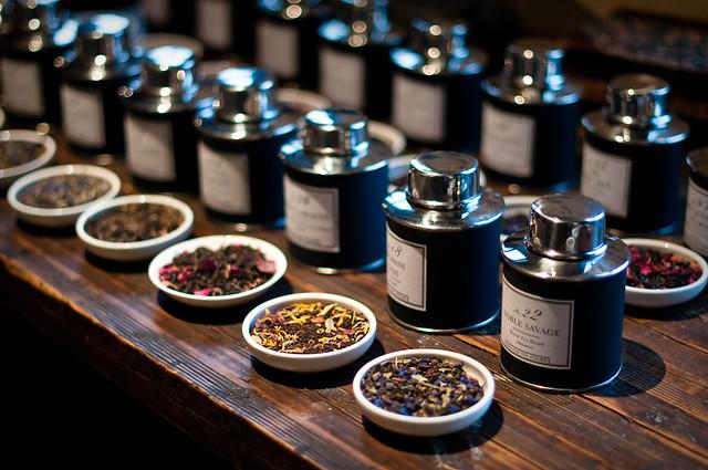 Bellocq Tea Atelier, Greenpoint, 27 Jan 2012.