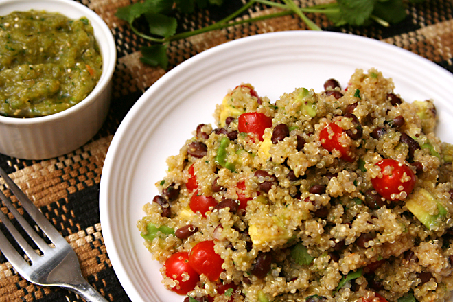 black bean quinoa 7