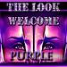 welcome purple look