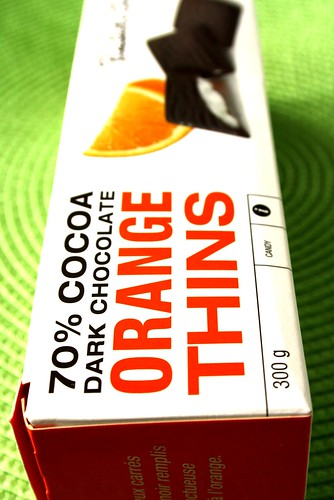 President's Choice Orange Thins