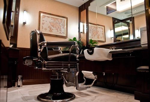 Privado en la barbería
