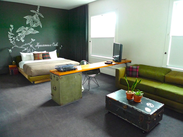 My ridiculously awesome room at the Ace