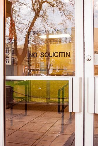 No Solicitin'