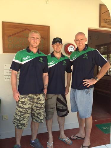 John, Alex & Trent