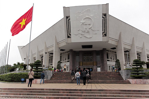 Ho Chi Minh Museum front