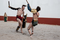 Gladiator fight!