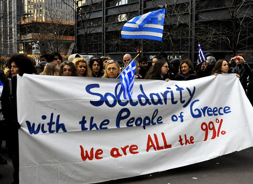 Occupy Greek solidarity