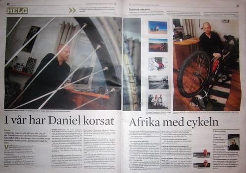 Västervikstidningen 18/2 2012