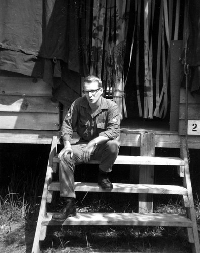 Ron in Vietnam, December 1966