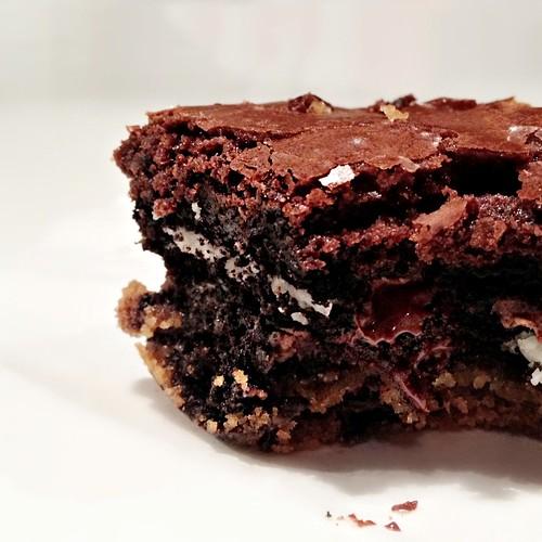 brownie cookie heaven