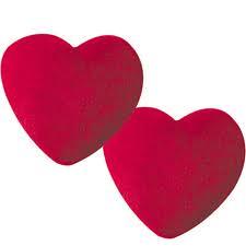 simples corazones rojos