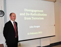 START's 2012 Spring Seminar feat. John Horgan