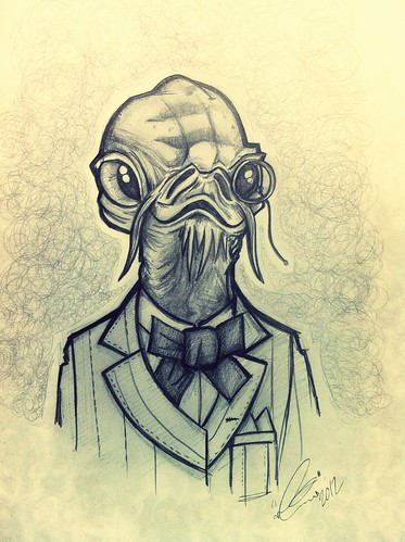 Admiral Ackbar by [rich]