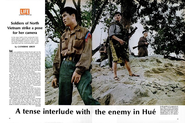 LIFE Magazine Feb 16, 1968 (3) A tense interlude with the enemy in Hué