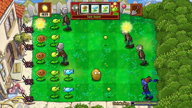 Plants vs Zombies for PS Vita