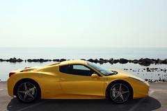 [フリー画像素材] 乗り物・交通, 自動車, フェラーリ, フェラーリ 458 イタリア ID:201202260400