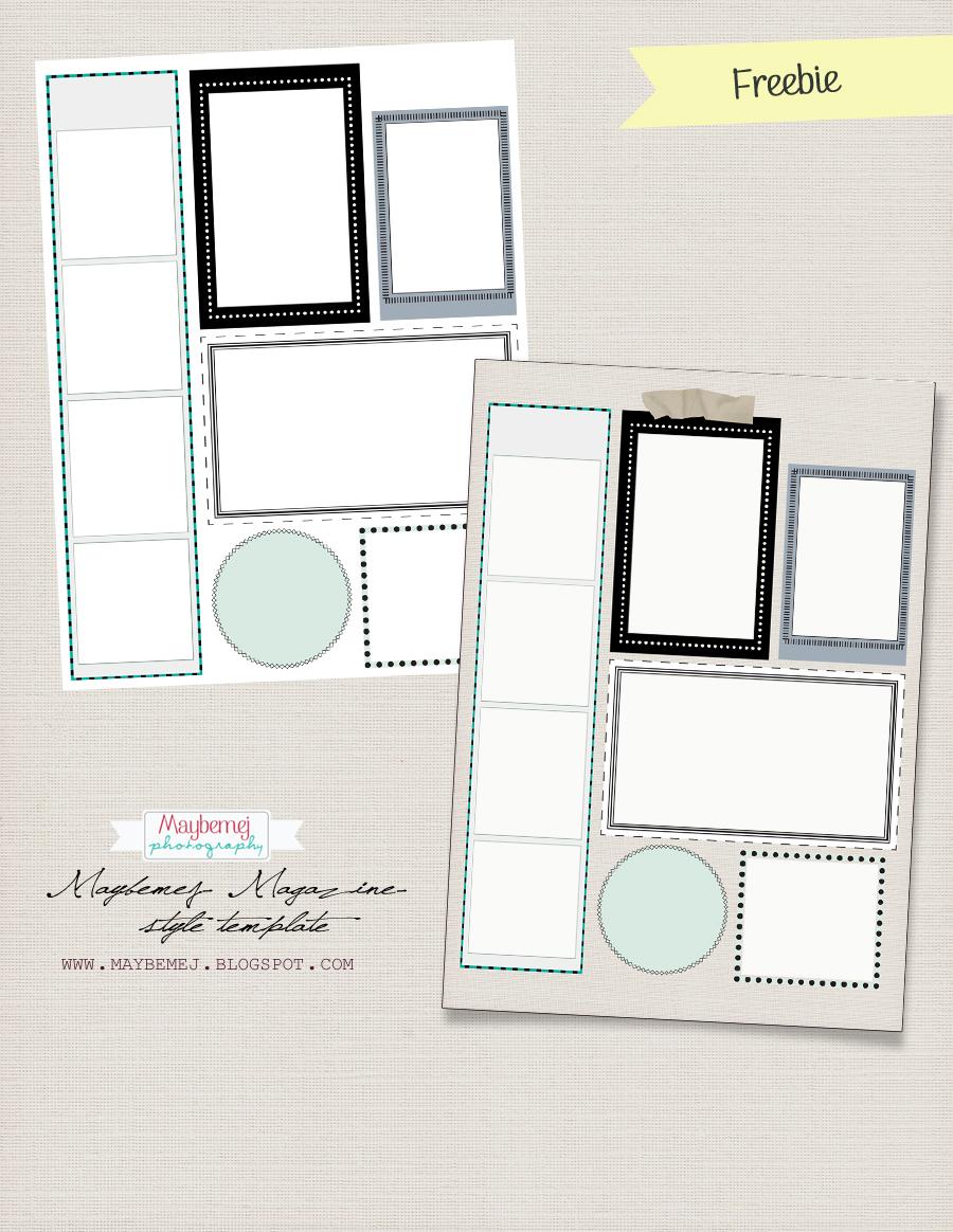 fotograf p sm gen digital freebie magazine template. Black Bedroom Furniture Sets. Home Design Ideas