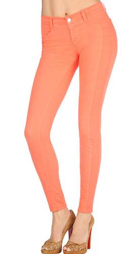 J Brand Kinsey Jeans in Tangerine