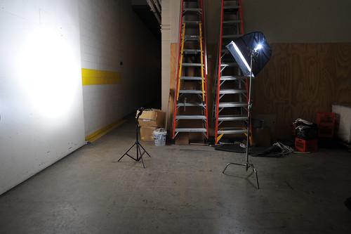 Portrait setup